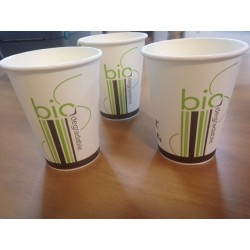 Gobelet décor Bio 24 cl biodégradable et compostable par 50