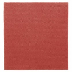 Serviette jetable biodégradable 33x33 cm Bordeaux par 50